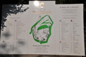 Harburg kale planı