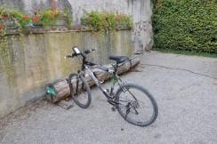 Hoş bir bisiklet parkı