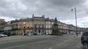 Eski şehrin cadde ve meydanları