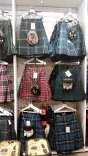İskoç yün etekleri