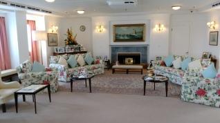 Britannia yatı misafir salonu