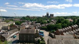 Edinburgh yolunda Durham kenti