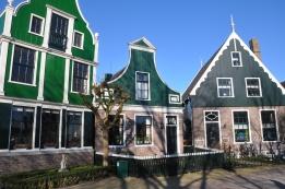Zaanse Schans evleri