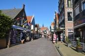 Volendam sokakları