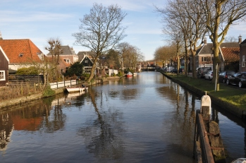 Volendam'da kanal