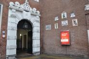 Amsterdam müzesi girişi