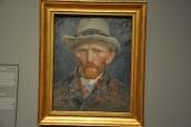 Van Gogh'un kendisini betimlediği tablo