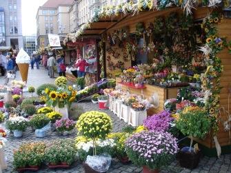 Çiçek pazarı