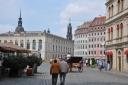 Yenilenmiş eski şehirde dingin yaşam