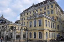 Eski şehirde tarihi binalar