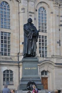 Martin Luther' in heykeli