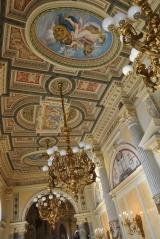 Semperoper'in iç mekan süslemeleri