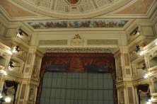Semperoper sahnesi